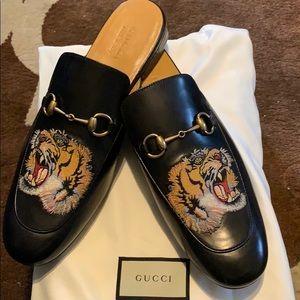 Gucci Princeton embroidered slipper